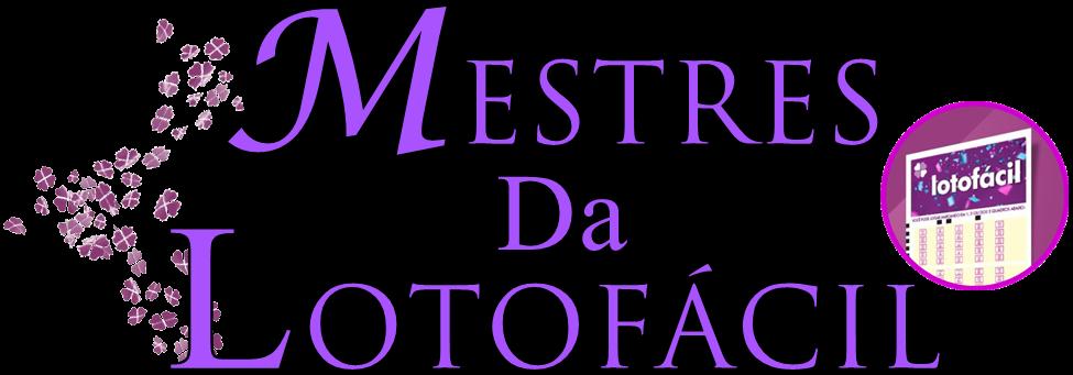 Logo Mestres da Lotofácil